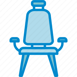 chair, modern, seat icon