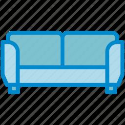 couch, livingroom, sofa icon