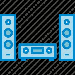audio, hifi, speakers, stereo icon