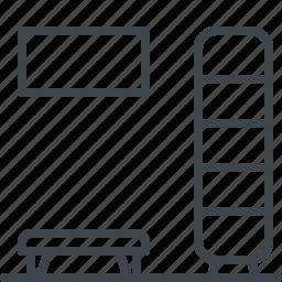 interior, wordrobe icon