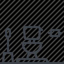 interior, toilet icon