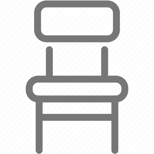 chair, furniture, house, stool icon