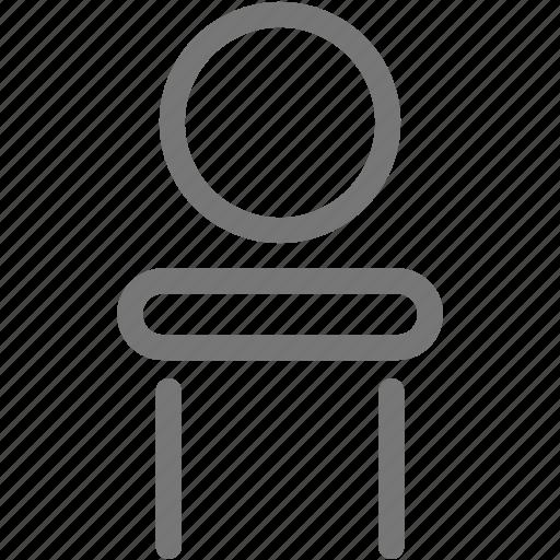 furniture, house, mirror, vanity icon