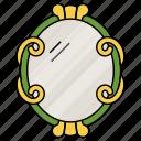mirror, interior, equipment, dressing mirror, vanity