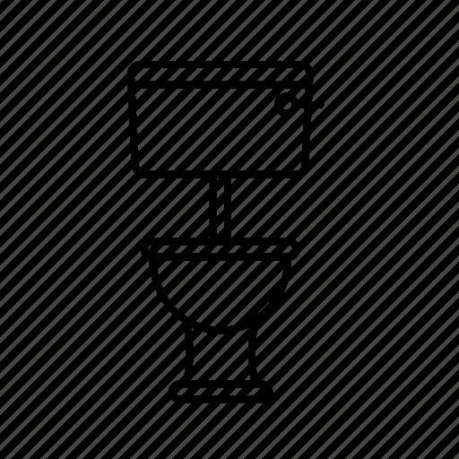 flush, sit, toilet icon
