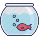 decor, fish, fishbowl, furnishing, furniture, interior, pet icon