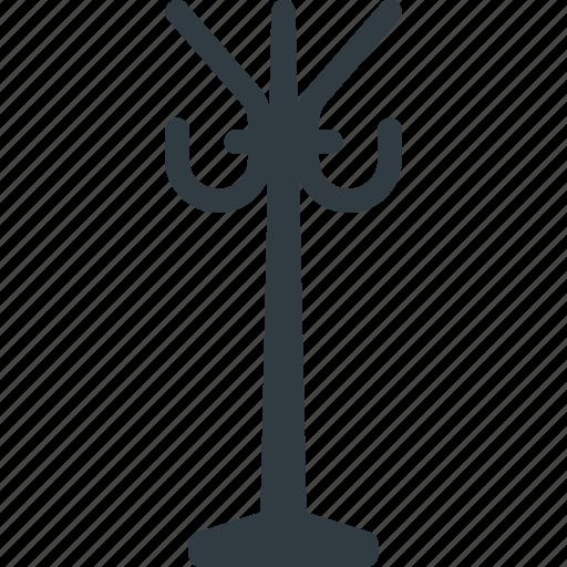 coat, hanger, hat, interior, rack icon