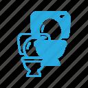 bathroom, restroom, toilet, wc2 icon