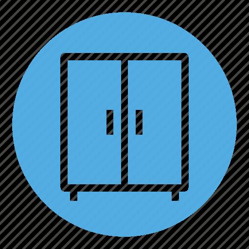 cabinet, cupboard, dresser, furniture, home, interior, wardrobe icon