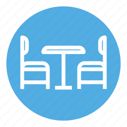 chair, dinner, furniture, home, interior, plate, table icon
