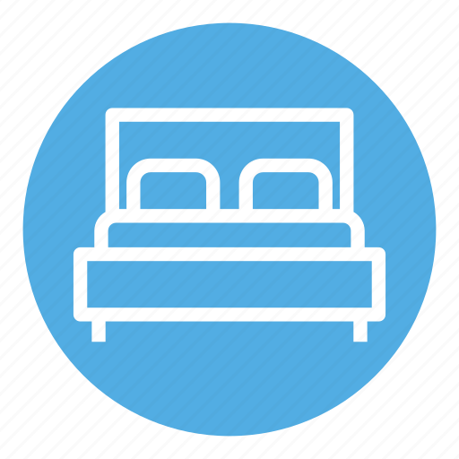 bed, bedroom, home, pillow, rest, room, sleep icon