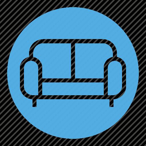 classic sofa, furniture, home, interior, seat, seat sofa, sofa icon