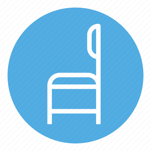 chair, furniture, home, interior, room, seat, wood icon