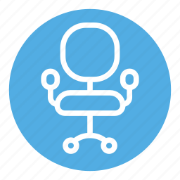 armchair, business, chair, furniture, house, interior, office icon
