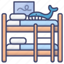 baby, bed, bunk, children