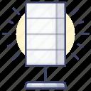 floor, interior, lamp, light icon
