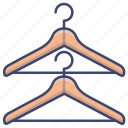 clothes, clothing, hanger, hangers