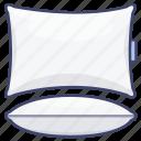 bedding, cushion, pillow, pillows icon