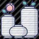 flower, interior, vase, vases
