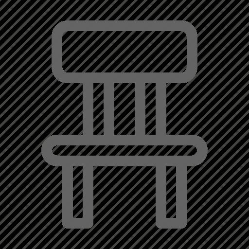 chair, interior, seat icon