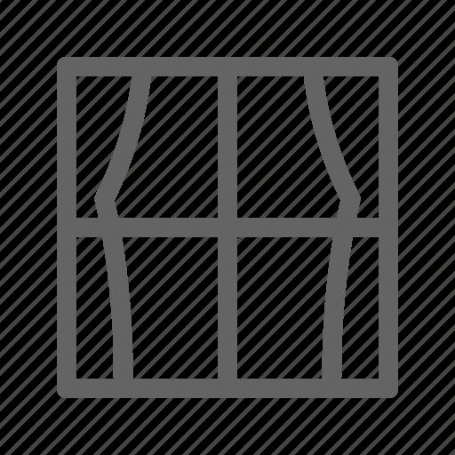 Curtain, interior, window icon - Download on Iconfinder