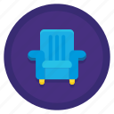 arm, chair, furniture, seat icon