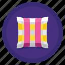 bedroom, cushion, pillow, sleep icon