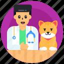 vet doctor, animal doctor, cat doctor, pet doctor, pet physician