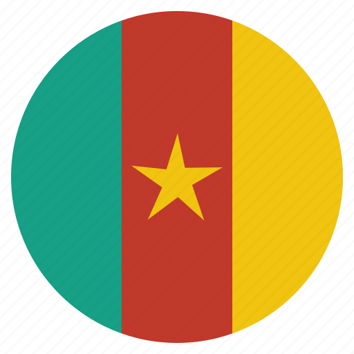 cameroon, cameroonian, country, flag, national icon
