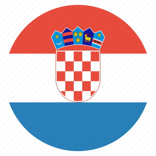 country, croatia, croatian, flag, national icon