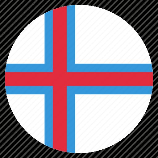 country, faroe, flag, islands icon