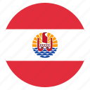country, flag, french, national, polynesia icon