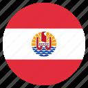 country, flag, french, polynesia icon