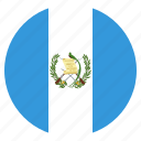 country, flag, guatemala
