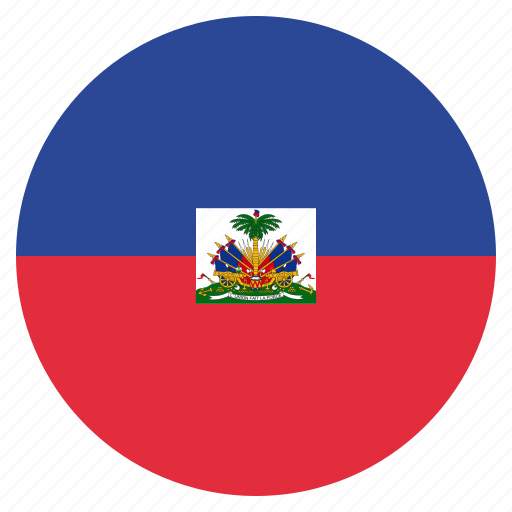 country, flag, haiti, national icon
