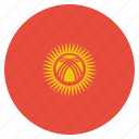 country, flag, kyrgyzstan icon