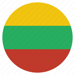 country, flag, lithuania, lithuanian, national icon