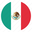 country, flag, mexican, mexico icon