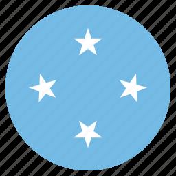 country, flag, micronesia, micronesian, national icon
