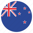 country, flag, kiwi, new zealand icon