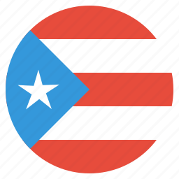 country, flag, national, puerto, rico icon