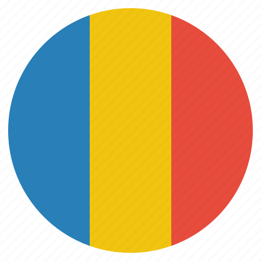 country, flag, national, romania, romanian icon