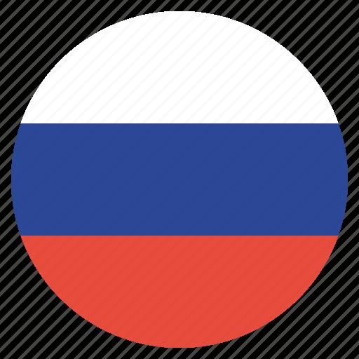 flag, russia, russian, soviet union icon