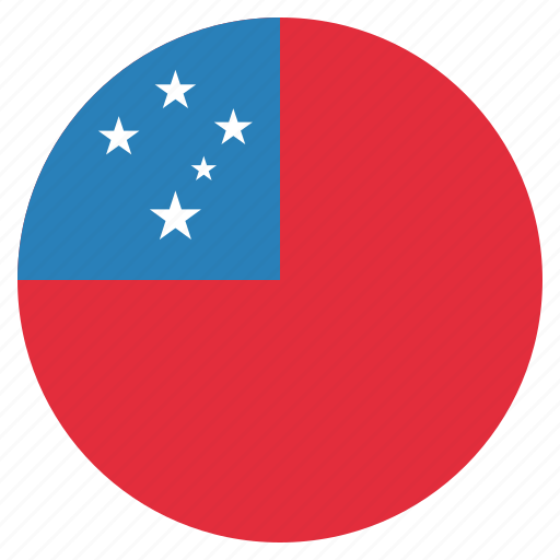 country, flag, national, samoa icon