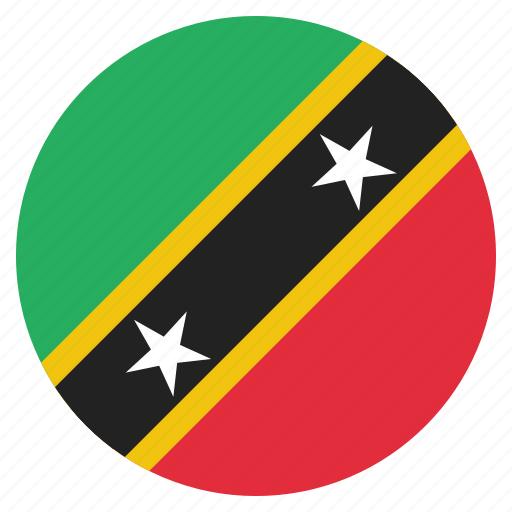 country, flag, kitts, national, nevis, st icon