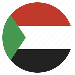 country, flag, national, sudan, sudanese icon