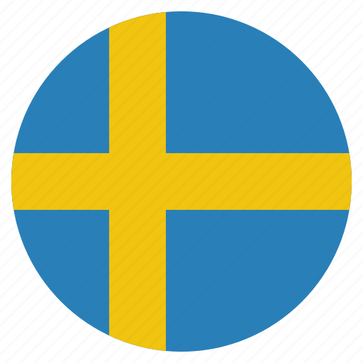 country, flag, national, sweden, swedish icon