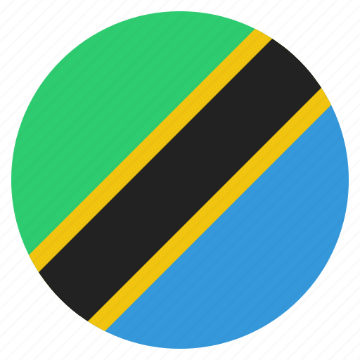 country, flag, national, tanzania, tanzanian icon