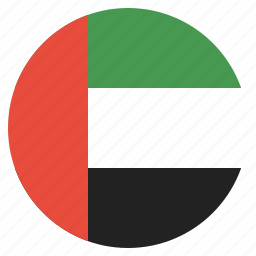 arab, country, emirates, flag, national, uae, united icon
