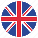 britain, flag, uk, united kingdom icon